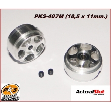 ALUMINIUM WHEELS (18,5 x 11mm.) (1/24)