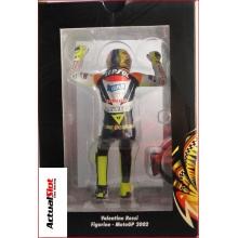 FIGURA 1/12 VALENTINO ROSSI (MOTO GP 2002)