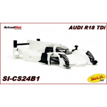 WHITE BODY KIT AUDI R18 TDI