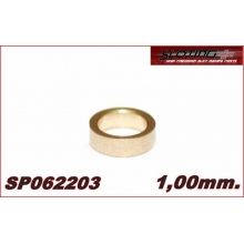 SPACER 1 mm MINI BRONZE for axle 2.38 mm (3/32)