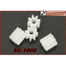 8 TOOTH NYLON PINION