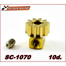 BRASS PINION 10 TOOTH