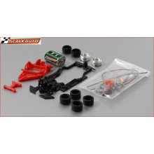 P208 T16 WHITE RACING CAR KIT
