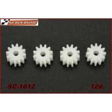 12 TOOTH NYLON PINION