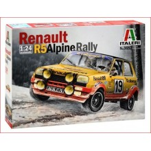 KIT RENAULT R5 ALPINE RALLY (1/24)