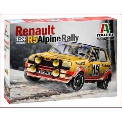 KIT RENAULT R5 ALPINE RALLY (1/24)