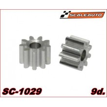 9 TOOTH ALUMINIUM PINION