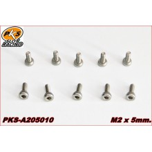 SCREW M2 x 3 FLAT HEAD