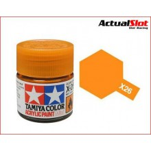 TAMIYA XF-26 CLEAR ORANGE 10ML.