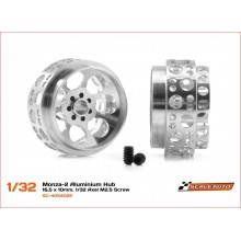 ALUMINIUM WHEELS 16,5 x 10mm. MONZA-2