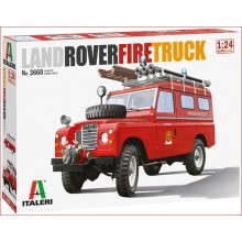 KIT LAND ROVER FIRE TRUCK(1/24)