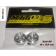 ALUMINUM WHEELS R9 (19 x 10,5 mm.)