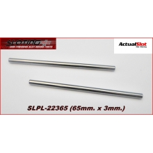 STEEL AXLE 65mm.