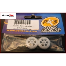 PKS NYLON WHEELS 16 x 9mm.