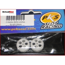 PKS NYLON WHEELS 16 x 10mm.